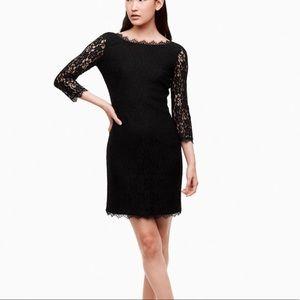 BABATON 'Rafael' Black Lace Body Con Dress 6